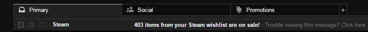 I got a friendly email from Gabe kindly notifying me that 403 games are about to be transferred to my Steam account.