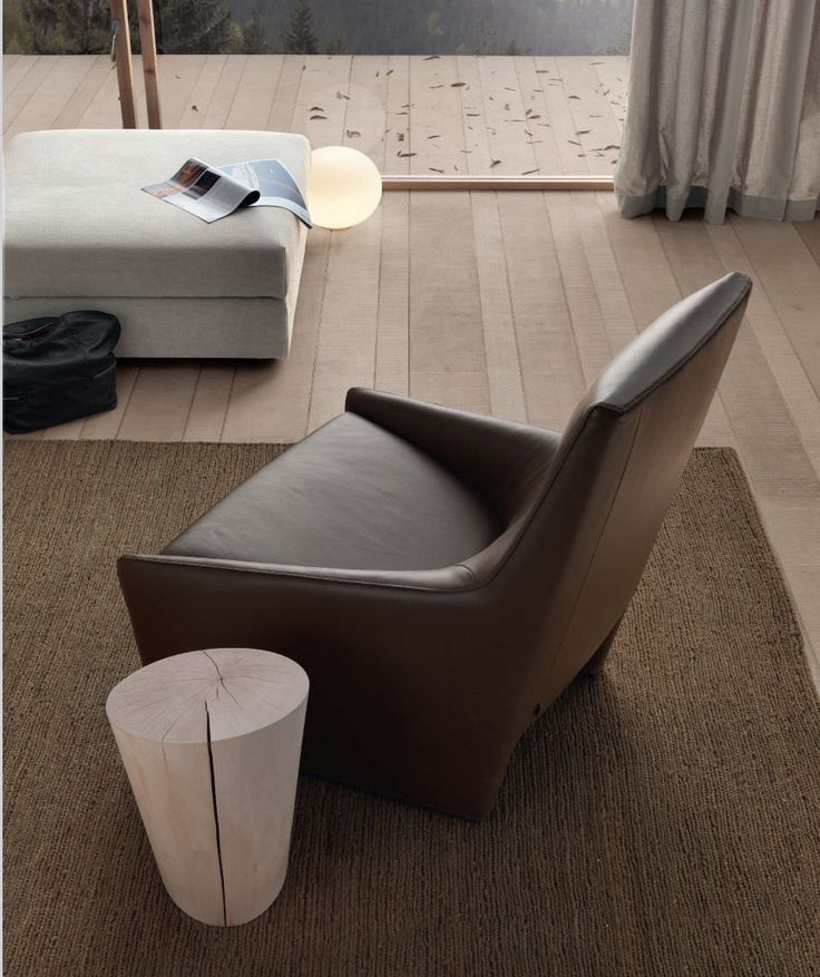 U0027Haikuu0027 Armchair With Wood Structure. Padding Foamed With Polyurethane In  Different Density.