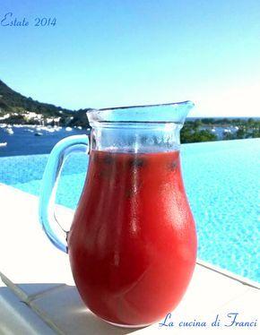 altra ricettina fresca e dissetante: Cocktail analcolico alla frutta