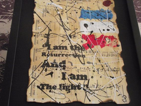 The Stone Roses song lyric printI Am The by Inmyheartdesigns