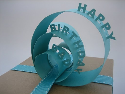Paper Gift Topper: Beautifully clever DIY!