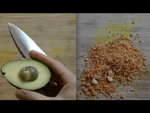 How To Eat Avocado Seeds - YouTube