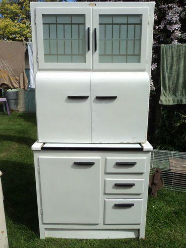 vintage kitchen larder/cupboard | eBay