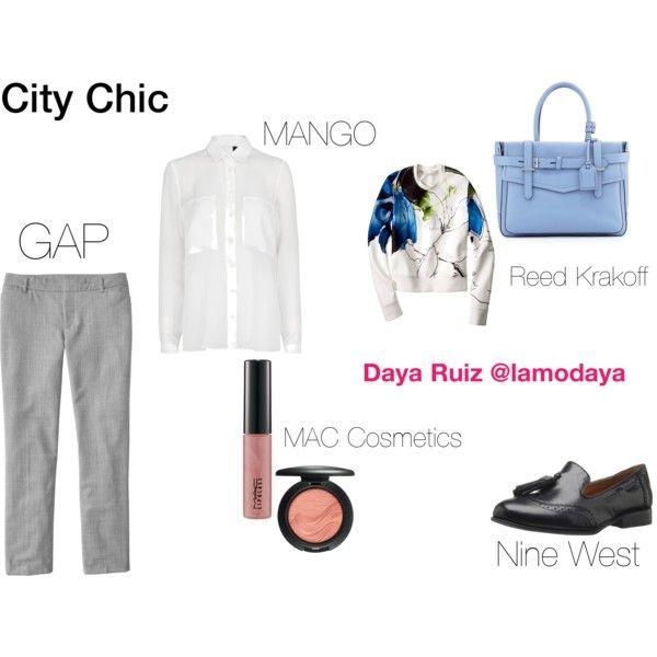 """""""Office City Chic"""" by lamodaya"""