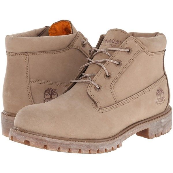Timberland Premium Waterproof Chukka (Tan) Men's Shoes ($116) ❤ liked on Polyvore featuring men's fashion, men's shoes, men's boots, men's work boots, tan, mens waterproof work boots, mens platform boots, timberland mens work boots, timberland mens boots and mens chukka boots