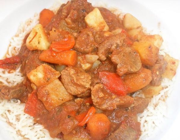 Slow-Cooker Lamb and Root Vegetable Stew - Click for Recipe