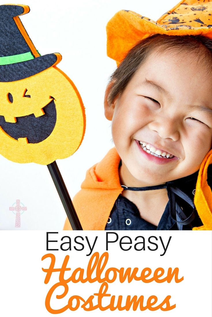 Looking for DIY ideas for Halloween costumes? Over 40 ideas here for babies, toddlers and older kids -- come take a look!
