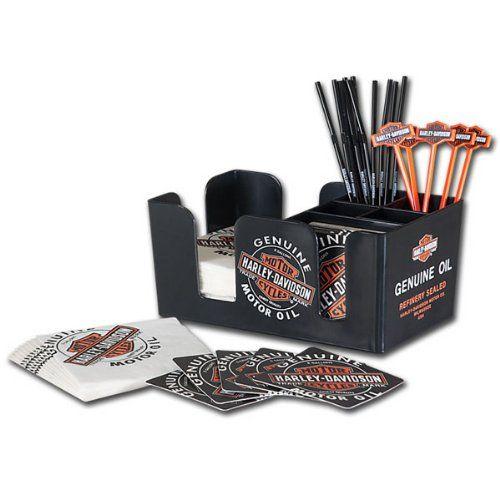 Harley-Davidson® Oil Can Bar Caddy http://bikeraa.com/harley-davidson-oil-can-bar-caddy/
