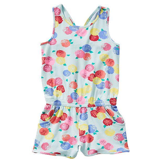 Floral Knit Playsuit
