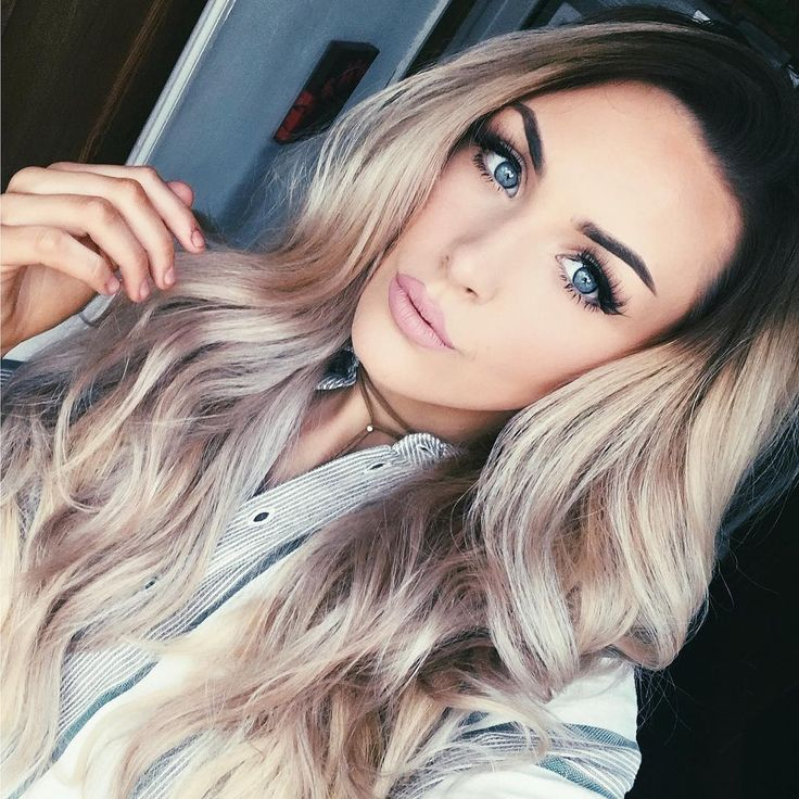 Milk + Blush Hair Extensions: 20-22″ Luxurious Set in the ombre shade Bel-Air
