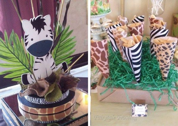 Los animalitos de la Selva son siempre bienvenidos a las fiestas de los más pequeños. Ya sea un solo animal como león, cebra, hipopótamo, tigre, monito, etc, o todos juntos. El tema safari es muy d…