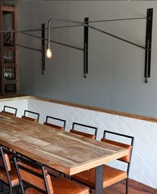 35 best community tables images on pinterest   communal table