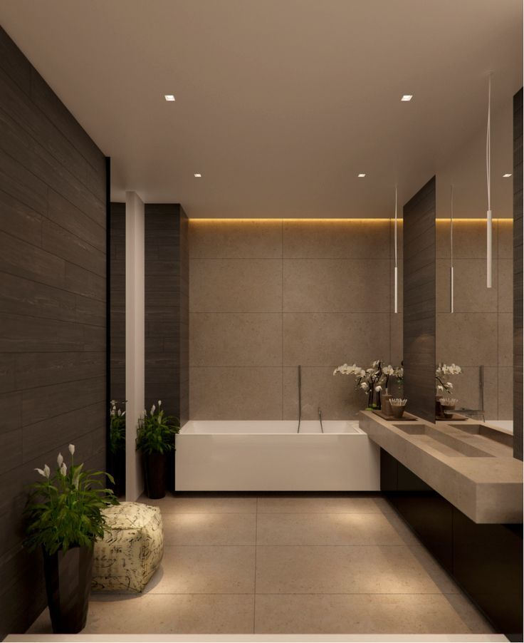Best 25 modern luxury bathroom ideas on pinterest luxury homes dream houses nice houses and - Master bathroom design and interior guide ...