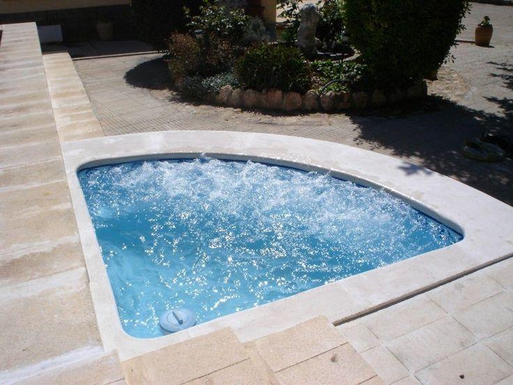 25 melhores ideias sobre mini piscina no pinterest - Piscinas pequenas prefabricadas ...