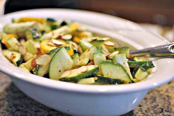 easy raw zucchini salad recipe