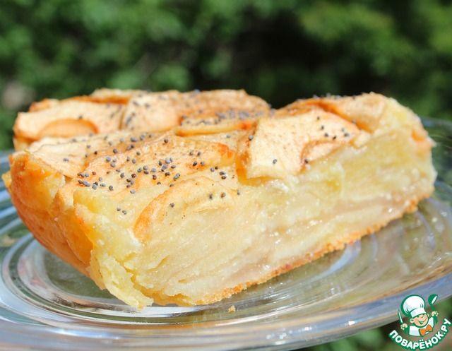 """Яблочно-творожный пирог """"Оборванец"""" ингредиенты"""