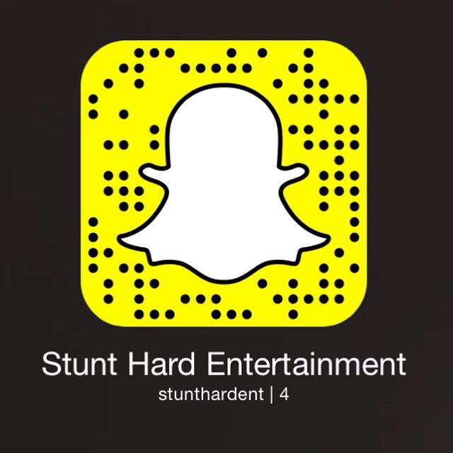 Follow Stunt Hard Entertainment on Snapchat to stay updated with our artists' upcoming projects.