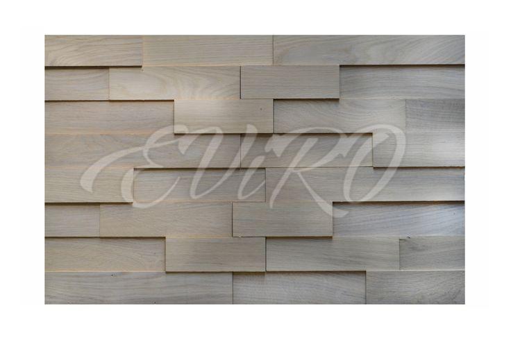 Белый.Компания «ЕВиРО» представляет абсолютно новый продукт на белорусском рынке – интерьерную 3D-плитку из массивной древесины .Являясь абсолютно экологичными продуктом, плитка удивительным образом преобразит Ваш интерьер, придаст ему неповторимость и эксклюзивность. Она выполнена из массивной древесины дуба и покрыта натуральными экологическими маслами