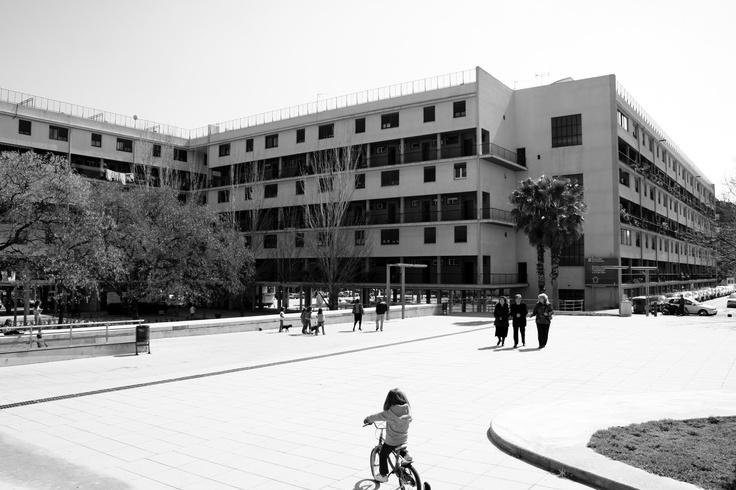 Rehabilitaci n casa bloc barcelona morteros sika monotop - Casa torres barcelona ...