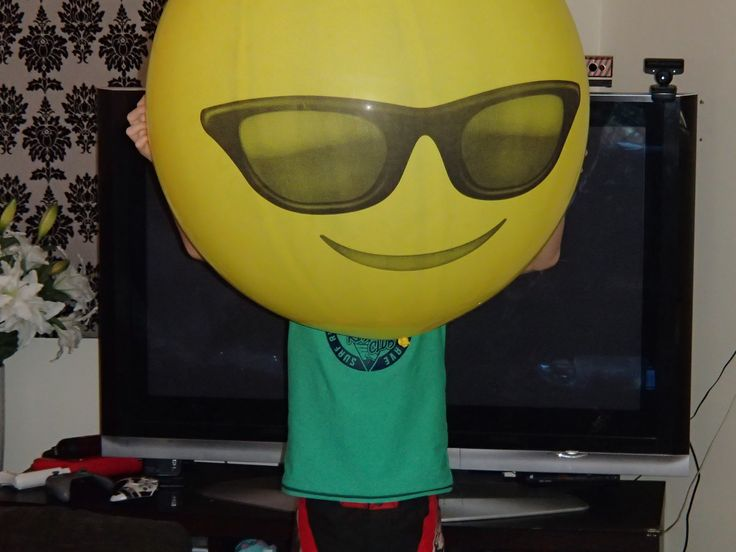 Massive smiley balloon