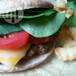 Barbecue Lamb Burgers @ allrecipes.com.au