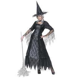 Disfraz de bruja tela araña para mujer