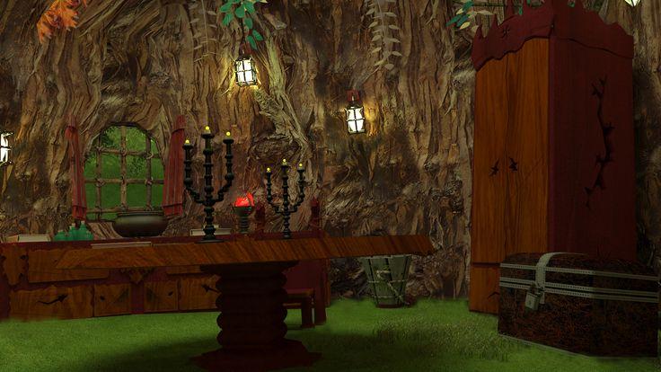 Ağaç ev iç 4