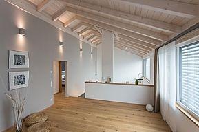super HDM Holzbauteam: Sichtdachstuhl