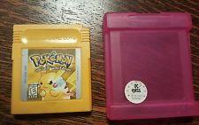 Gameboy YELLOW Pokemon PIKACHU SPECIAL EDITION Nintendo Game Boy   get it http://ift.tt/2cjpiGw pokemon pokemon go ash pikachu squirtle