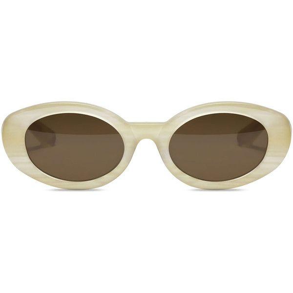 Elizabeth and James McKinley Oval Acetate Sunglasses