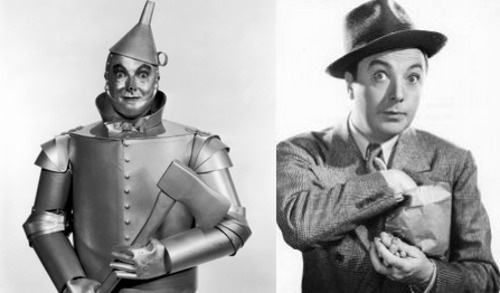 The Tinman played by Jack Haley.