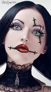 Image result for easy halloween face painting