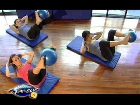 Ejercicios de Pilates Mat para tonificar y fortalecer abdominales, oblicuos y aductores