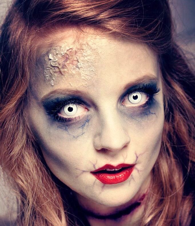 Zombie Mermaid Makeup