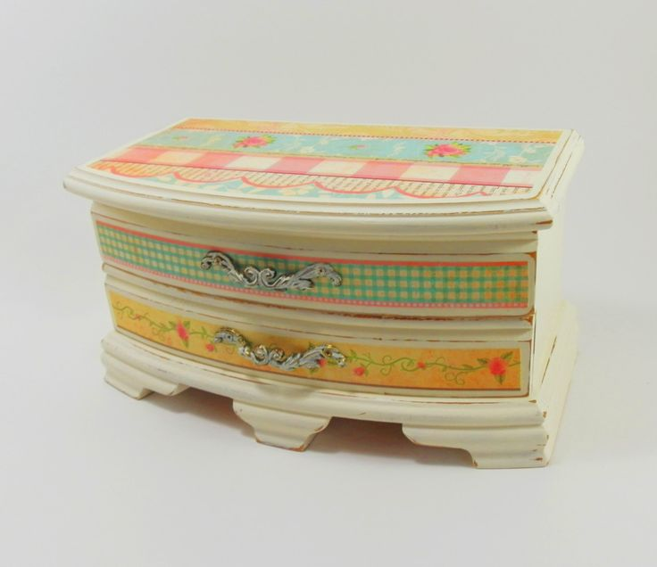 218 best Upcycled Jewelry Box images on Pinterest Jewelry box