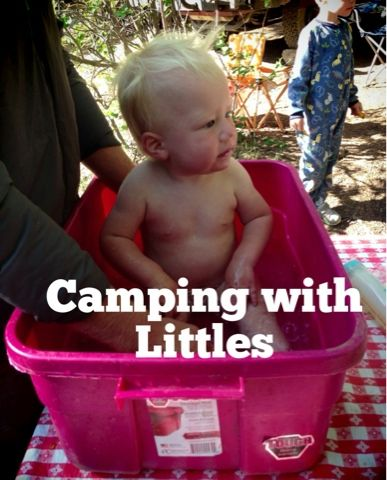 Tips and Tricks for camping with kids under age 2