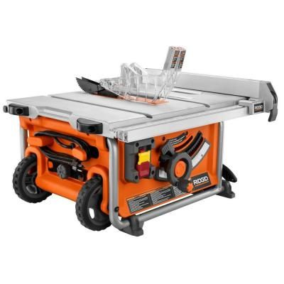 ridgid tools saw. ridgid 15-amp 10 in. compact table saw-r45161 - the home depot ridgid tools saw