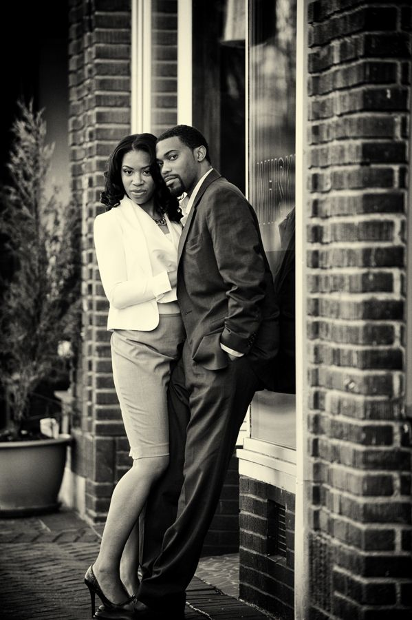 A Dramatic Engagement Session at Whisky in Downtown Durham ...