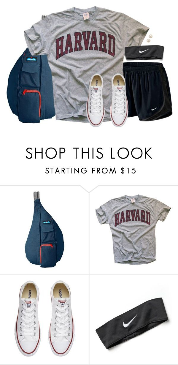 """What should I do tonight for the last day of summer?"" by aweaver-2 on Polyvore featuring Kavu, NIKE, Converse and Honora"