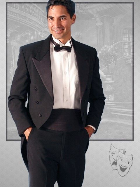 Black Classic Tails - Formal Wear