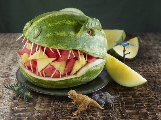 Wassermelonentier-TRex