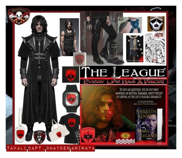 Dress like everyone's favorite Tavali Rogue pilot, Capt. Chayden Aniwaya AKA Psycho Bunny from Sherrilyn Kenyon's The League®: Nemesis Rising. Be a space pirate and fight the establishment!