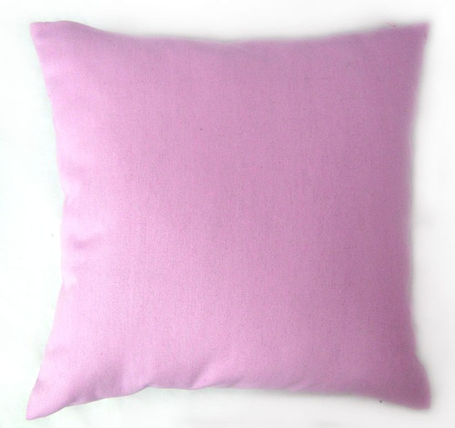 EA143 Plain Solid Rose Pink Cotton Canvas Cushion Cover/Pillow Case*Custom Size* | eBay