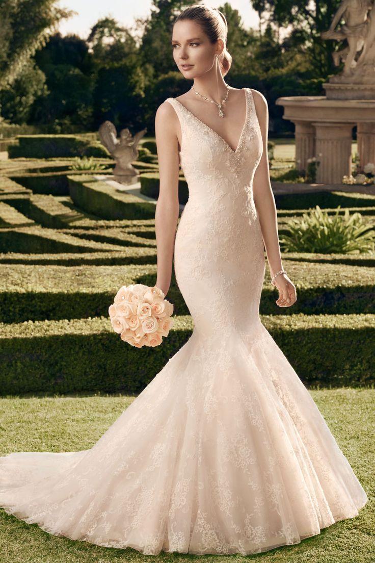 Bridal water lily 2226 wedding dresses photos brides com - Sheath Wedding Dress Wedding Gown By Casablanca Bridal