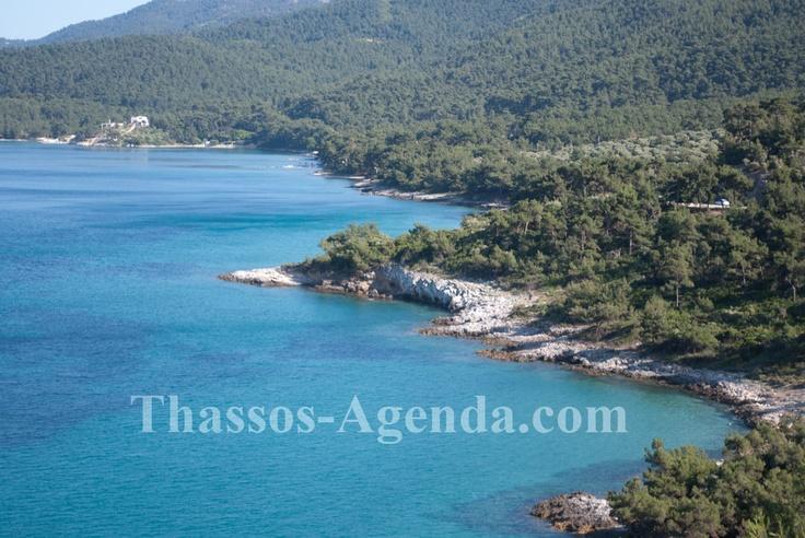 Thassos green island