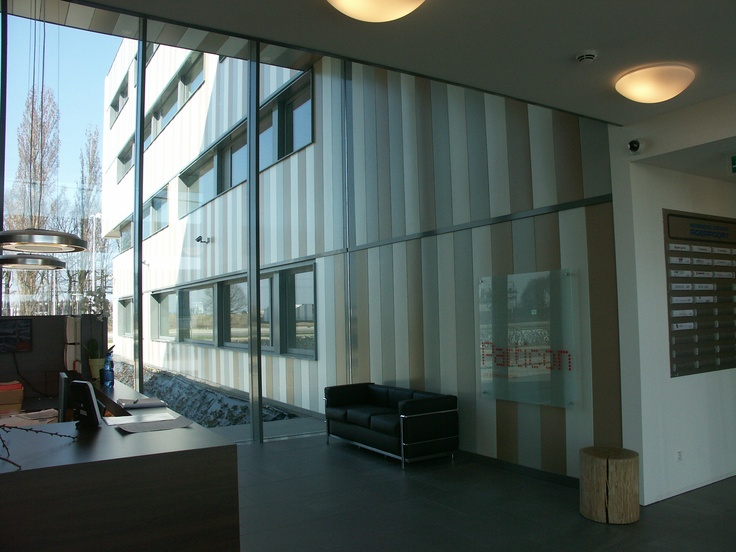 Business center poerpoort gecoat staal op dit bedrijvencentrum zijn de gevels en plafonds - Architectuur staal corten ...