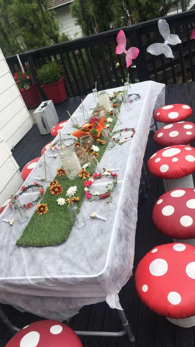 Fairy party setup