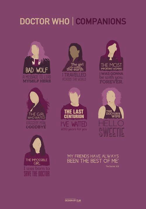 Doctor Who. The Companions.