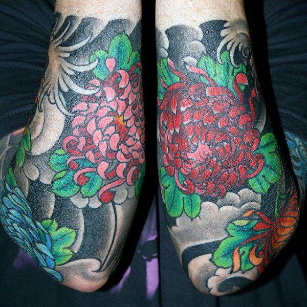 27 besten forearm japanese tattoo designs bilder auf. Black Bedroom Furniture Sets. Home Design Ideas