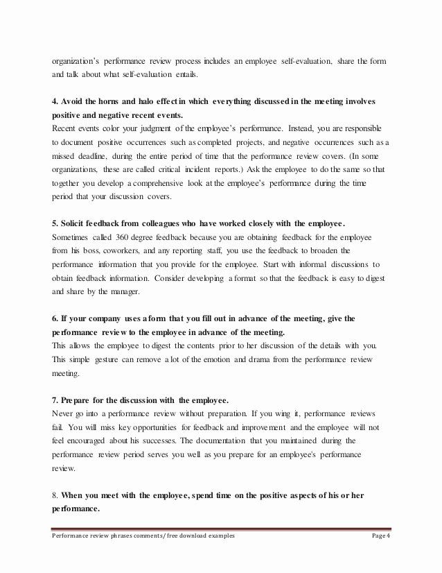Summary Of Performance Examples Inspirational Sample Employee Performance Review Phrases Employee Performance Review Performance Reviews Performance Appraisal